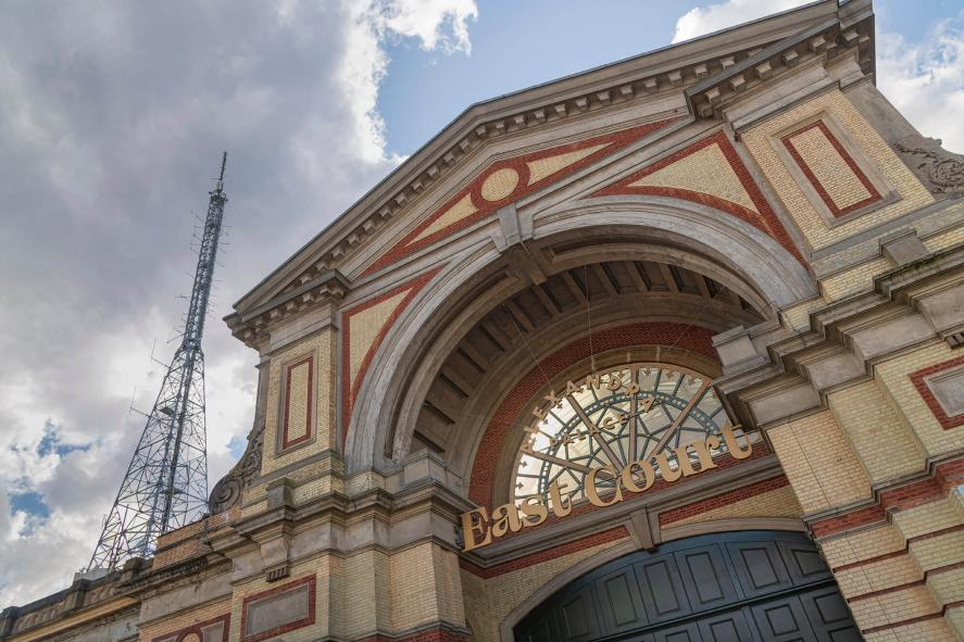 Alexandra Palace's old BBC Transmitter Hall